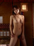 Beautiful Asian Fantasy Captured In Erotic Nude Photography - asian with natural ample titty